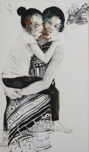 alessandro_mother_and_daughter_with_scorpion_fish_125x170-cm_tecnica-mista-su-tavola_2019_web